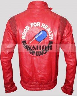 Akira Kaneda Pill Cosplay Red Leather Jacket