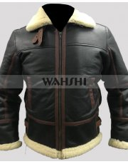 Resident Evil 4 Leon Kennedy Men Leather Jacket