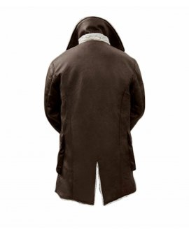 The Dark Knight Rises TDKR Bane Hardy Brown Faux Leather Jacket Coat