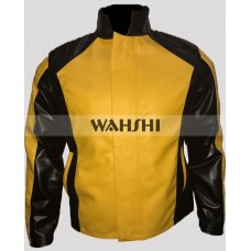 Cole Macgrath Infamous Gaming Yellow Cosplay Leather Jacket