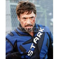 Iron Man 2 Robert Downey Leather Costume