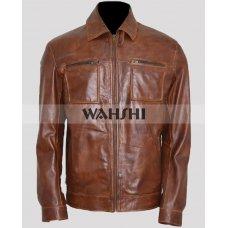 Arrow Season 4 David Ramsey John Diggle Leather Jacket