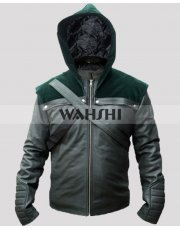 Stephen Amell Oliver Green Arrow Season 2  Hoodie Costume