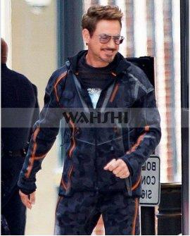 Avengers Infinity War 2018 Tony Stark Jacket