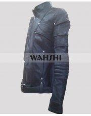 Arrow TV Series Black Canary Black Leather Jacket