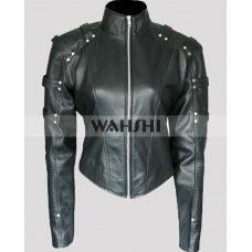 Black Canary Arrow Season 2 Leather Jacket