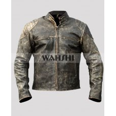 Retro 2 Cafe Racer Vintage Motorcycle Jacket