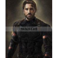 Avengers Infinity War 2018 Captain America Jacket