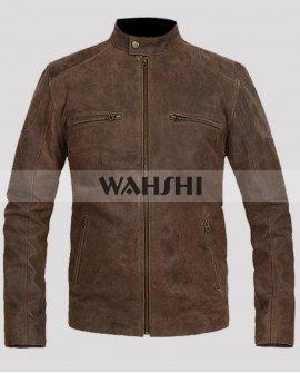 Captain America Civil War Chris Evans Brown Jacket