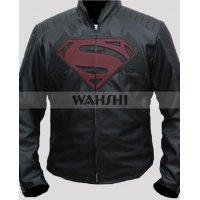 Superman Black Leather Jackets
