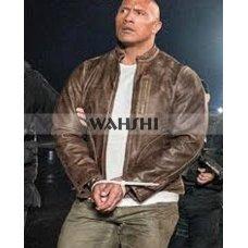 Davis Okoye Rampage Distressed Leather Jacket