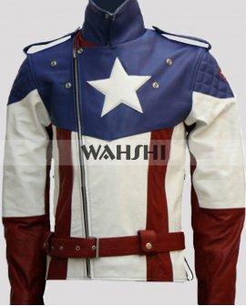 First Avengers Captain America Chris Evans Jacket