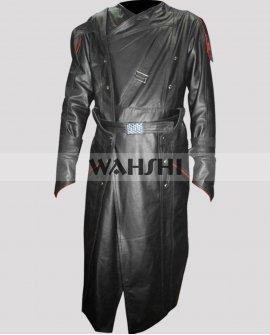 First Avenger Captain America Red Skull Leather Coat