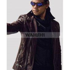 Carlos Valdes Cisco Ramon Reverb Flash S3 Leather Jacket