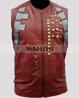 Guardians Of The Galaxy Chris Pratt Leather Vest