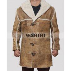 Hell On Wheels Cullen Bohannon Distressed Tan Coat