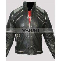 Michael Jackson Beat It Black Leather Jacket