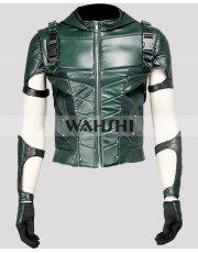 Stephen Amell Arrow Season 4 Green Hoodie Jacket