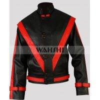 Michael Jackson Thriller Black Leather Jacket