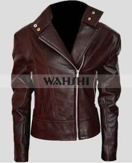 Emma Swan Once Upon A Time Brown Leather Costume