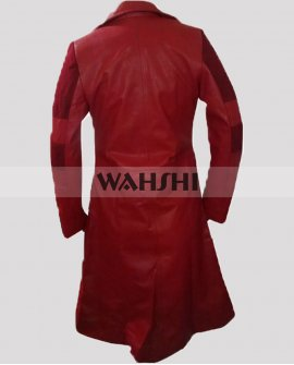 Scarlet Witch Captain America Civil War Costume Coat