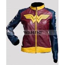 Wonder Woman Adrianne Palicki Costume Stylish Jacket