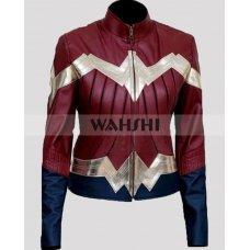 Wonder Woman 2017 Movie Leather Jacket
